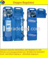 high pressure portable oxygen gas cylinder