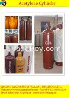 40l acetylene gas cylinder, gas cylinder for sale