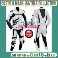 Motor bike leather suit