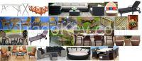 outside/park/garden sofa set or meatal or wood furniture