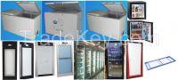 Refrigerator/cooler glass door