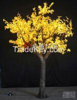 Artificial led maple tree light, 3.5m Halloween decoration led tree