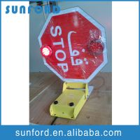 School bus stop board for student safety