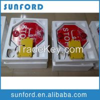 wholesale flashing leds stop signs for big nose school bus