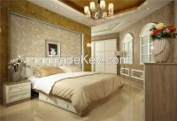 E1 grade MDF with melamine bedroom furniture