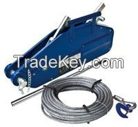 Manual Wire rope Pulling Hoist 1.6T