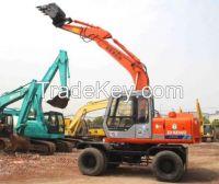 Used Hitachi EX100WD Wheel Excavator/Hitachi EX100WD Excavator
