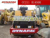 Used Road Roller DYNAPAC CC211
