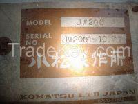 Used Road Roller Komatsu JW 200