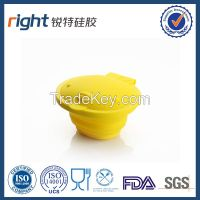 travel folding bowl/Dongguan Right silicone