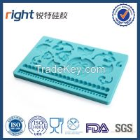 fondant mold & cake decoration/Dongguan Right silicone