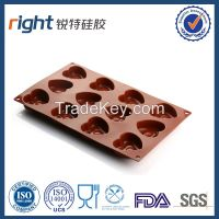 Heat Shape Silicone Mold With 12 Cavities, Dongguan Right Silicone