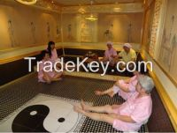 Khan steam room