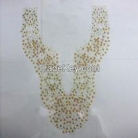 Stud hot-fix iron collar, various designs are available