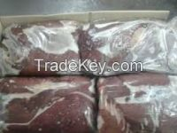 Freshly Cut and Frozen Beef Liver, Kidney Tail, Cube Roll and Other Beef Parts