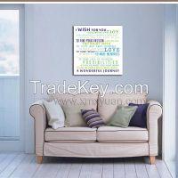 Custom Make canvas Wall Art, Galllery Wrap Frame, Family Home Rules, Inspiring Words Prints, Fresh Home Decor Use