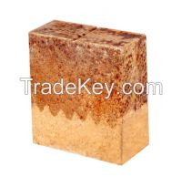 Low creep clay bricks/