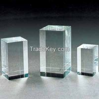 k9 blank glass crystal cubes for 3d laser engraving