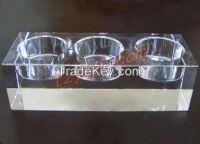 k9 blank crystal glass candle holder candlestick for religious gifts