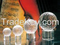 3D laser engraving k9 blank crystal glass ball for laser engraving