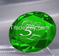 wedding decoration k9 crystal glass diamond for souvenirs gifts