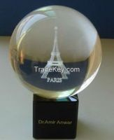 3d laser engraving k9 crystals for souvenirs gifts