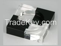 custom style k9 crystal glass ashtray for souvenirs gifts
