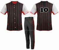 Custom Design Baseball Uniforms