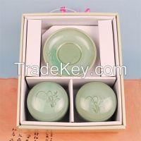 Korean traditional tea cup set