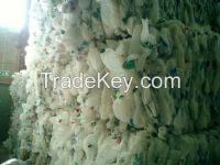 HDPE MILK BOTTLE SCRAP WITH OUT CAP