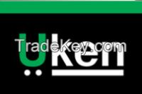 UKEN Brand interior and finishing tools like brushes, trowel, rush machine, silicon gun