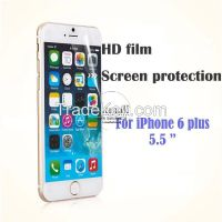 10Pcs/lot Screen Protection Film For iPhone6 + 5.5 inch Transparent HD Clear Screen Protector for Apple iPhone 6 plus