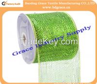 pp metallic colorful plastic material wrap net