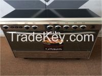 Stainless steel 5 burner gas cooker
