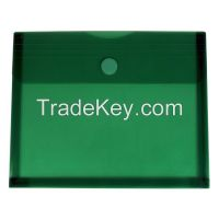 K223 side open velcro envelope w/. gusset
