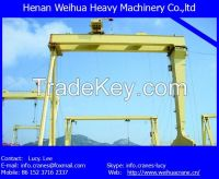 High quality 10t single girder gantry crane with various certifications