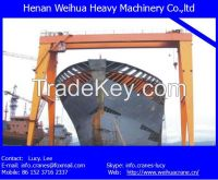 High quality double girder gantry crane with various certifications