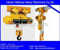High performance Electric chain Block from HENAN WEIHUA