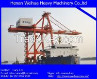 High quality ship to shore crane from HENAN WEIHUA