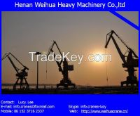 30T new portal crane from HENAN WEIHUA