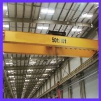 WEIHUA 55 Ton Extra Long Electromagnetic Overhead Crane with Carrier Beam