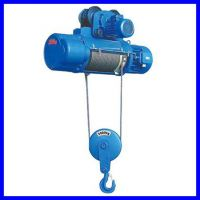 5T electric hoist single/double speed with motorized trolley