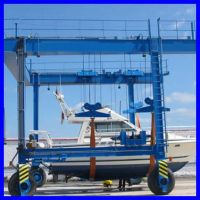 Weihua rubber tyred gantry crane