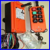 wireless control for crane