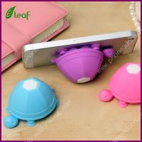 Turtle Silicone Mobile Phone Holder Cell Phone Sucker Stand (PH001)