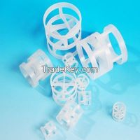 PP, RPP, PVC, PVDF, HDPE, PFA Plastic Pall Ring