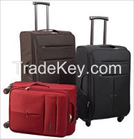 high quality nylon/polyester material travel luggage case
