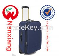 EVA+Shantung silk material travel luggage case