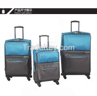 1680D nylon men and women trolley luggage sets