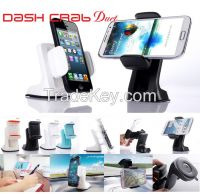 DashCrab DUET - one touch universal car mount holder for smart phones